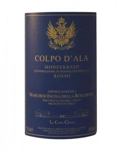 Monferrato-Rosso-Colpo-dAla-Marchesi-Incisa-Rocchetta-etichetta